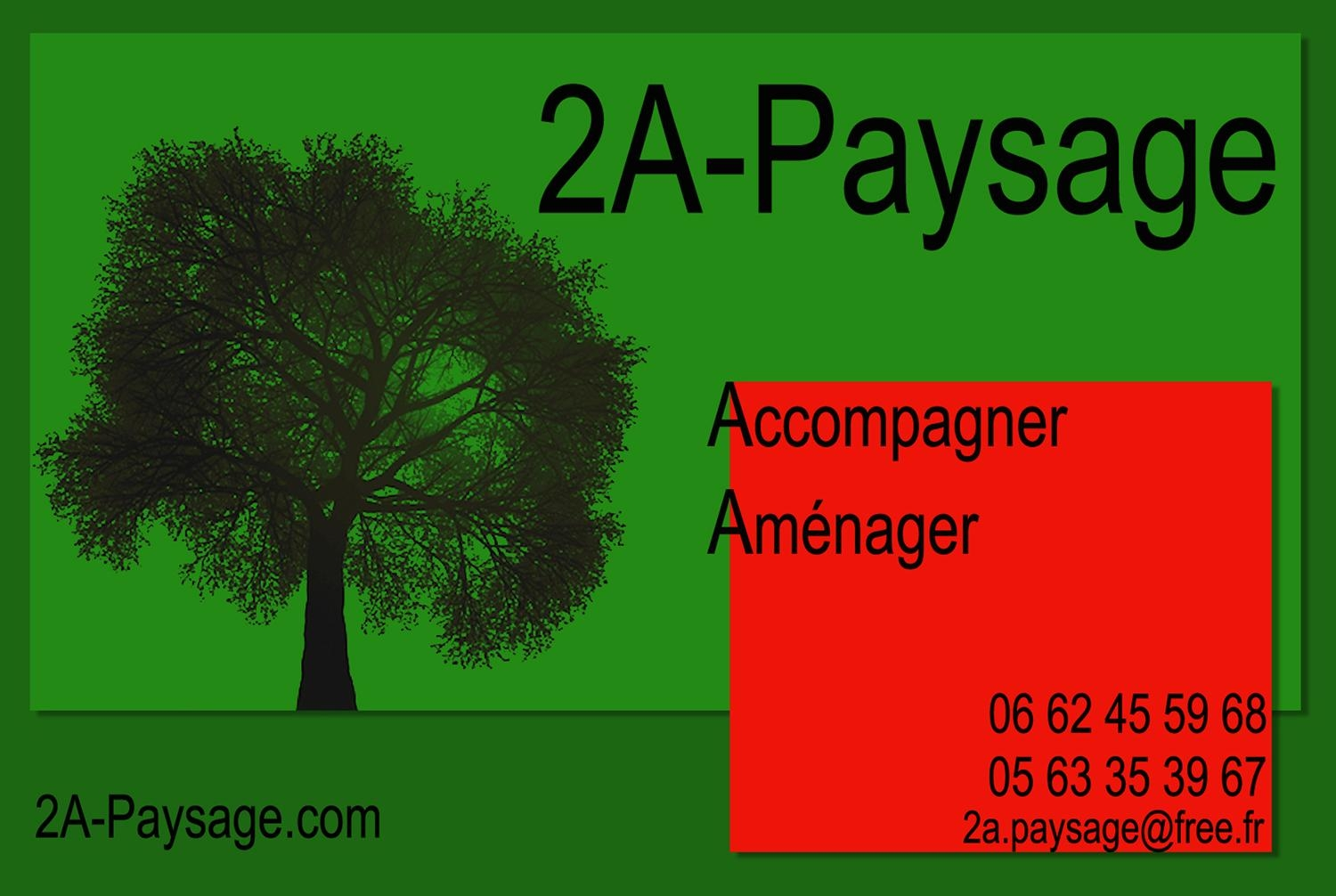 2a paysage paysagiste castres for Tarif paysagiste 2015
